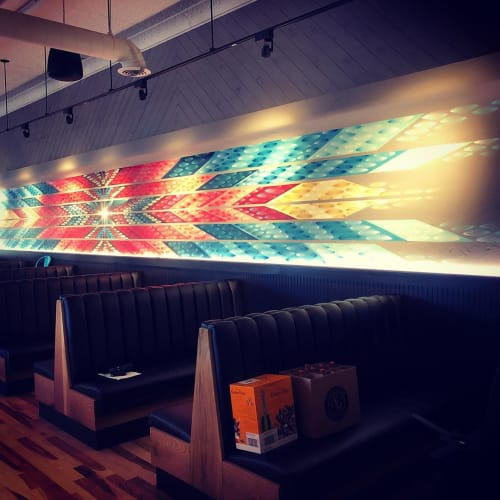 Murals by Art by Chad Bolsinger seen at Teocalli Cocina, Lafayette - Mural