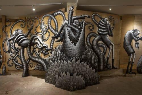 Phlegm - Street Murals and Public Art