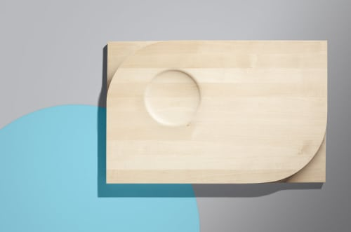 Tableware by Miduny seen at Private Residence, Brooklyn - Two-Face Board