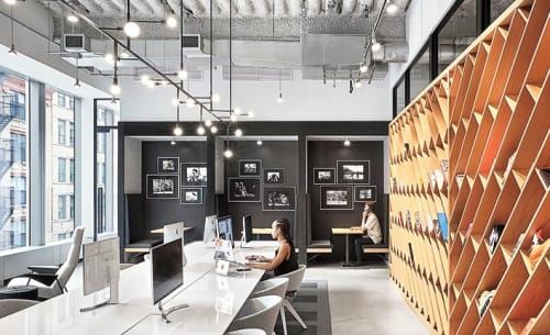 Chandeliers by Lambert et Fils seen at Nike New York Headquarters, New York - Custom Chandelier