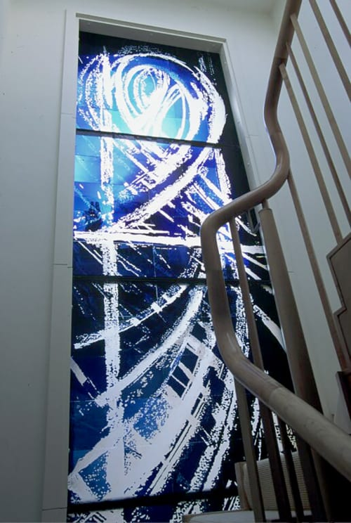 Art & Wall Decor by Sophie Hussain - Lightlust Studio seen at Private Residence, London - Abstract Window