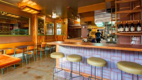 Huxley, Bars, Interior Design