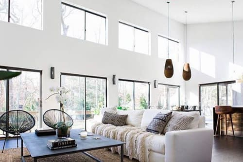 Pendants by Graypants seen at Private Residence - Drop26 Pendant Natural