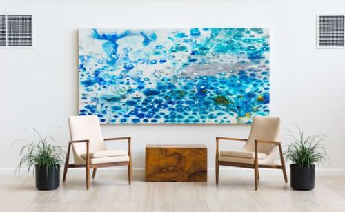 Paintings by Lynn Basa seen at Newport Beach Marriott Hotel & Spa, Newport Beach - Ice Age