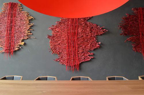 Art & Wall Decor by Nnenna Okore seen at HALL Wines, Saint Helena - Shield Me