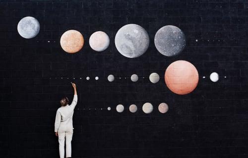 Murals by Stella Maria Baer seen at Call, Denver - 48 Moons