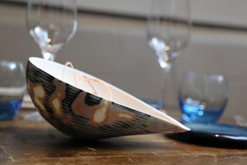 Tableware by Manos Kalamenios seen at Lima London, London - Fine Bone China Vessel