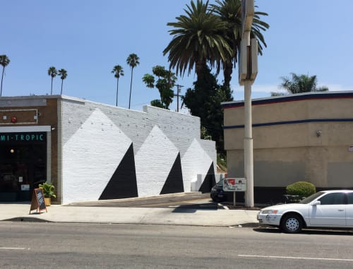 Murals by Tofer Chin seen at The Semi-Tropic, Los Angeles - 3 Foundations - Outdoor Mural