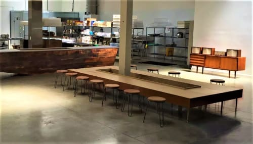 Benches & Ottomans by Arnaud Goethals seen at Vive La Tarte, San Francisco - Central Bench