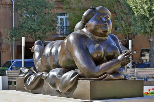 Fernando Botero - Sculptures and Art