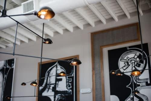 Lighting by Thomas Schoos seen at Norah, West Hollywood - Custom Decorative Lighting