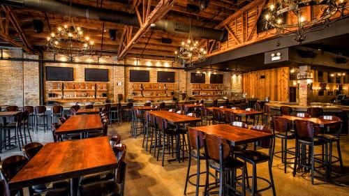 Moe's Cantina River North, Restaurants, Interior Design