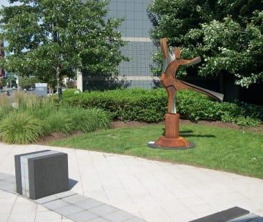 Public Sculptures by CJRDesign at Coeur d'Alene, Coeur d'Alene - Graceful