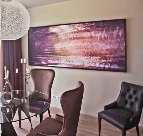 Art & Wall Decor by Rica Belna seen at Therme Geinberg, Geinberg - Abstract Art