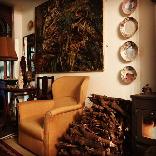 Paintings by Jan du toit seen at Private Residence, Cape Town - Abstract Painting