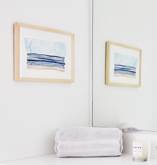 Paintings by Martha Oakes seen at Batch, San Francisco - Shorelines Painting