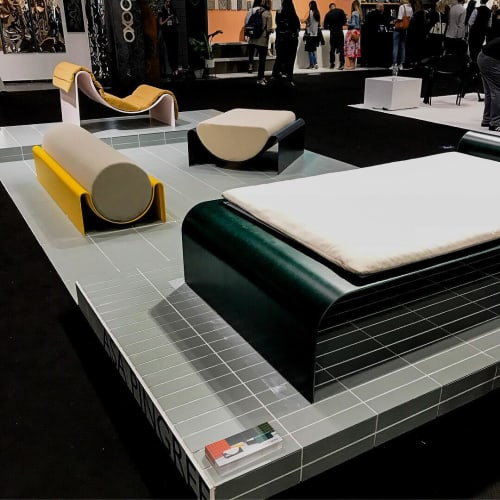Chairs by Asa Pingree at Jacob K. Javits Convention Center, NYC, New York - New Fiberglass Collection 2018