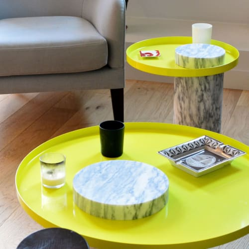 Tables by La Chance seen at Private Residence, Paris - Salute Table