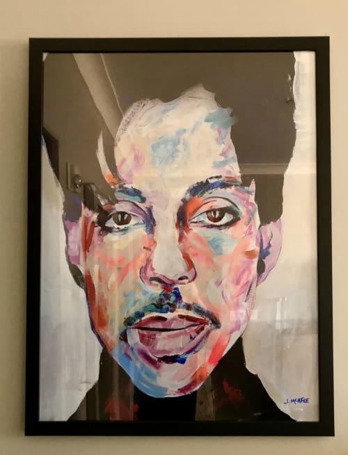 Paintings by Jonathan McAfee seen at Loews Minneapolis Hotel, Minneapolis - Prince