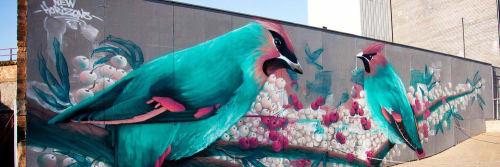 Fauna Graphic - Street Murals and Murals