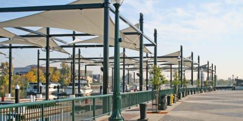 Stockton Downtown Marina, Public Service Centers, Interior Design