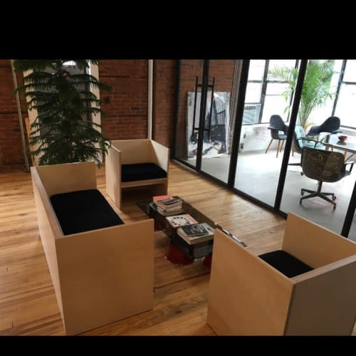 Chairs by David Gaynor Design seen at Verdes, New York - Custom Seating