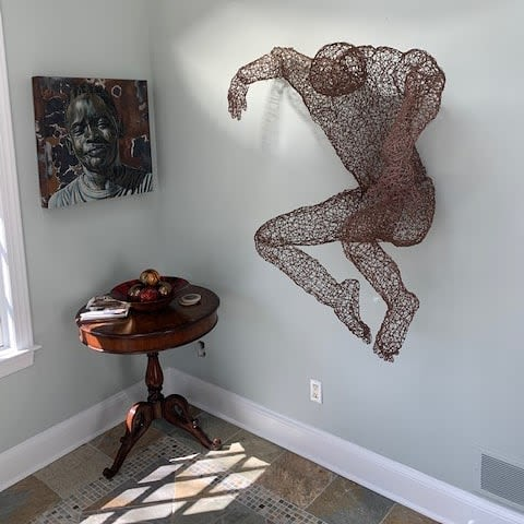 Sculptures by Kristine Mays seen at Private Residence, New York - Soar!