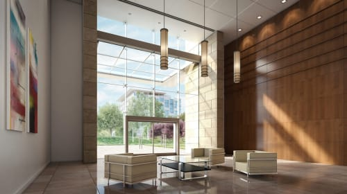 Moffett Towers, Offices, Interior Design