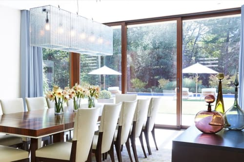 Chandeliers by McEwen Lighting Studio seen at Private Residence, Ross - Nebula Suspension