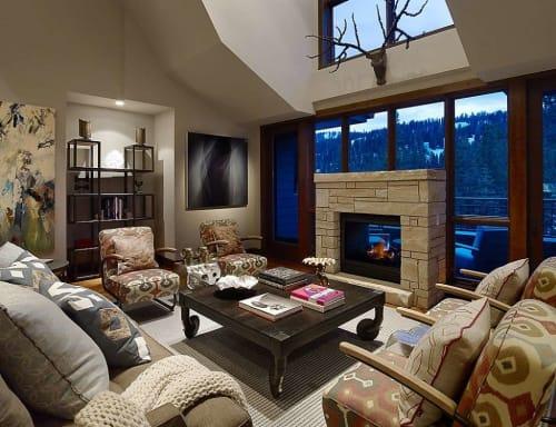 Paintings by Bernadette Jiyong Frank seen at The Ritz-Carlton, Lake Tahoe, Truckee - Spaces In Between