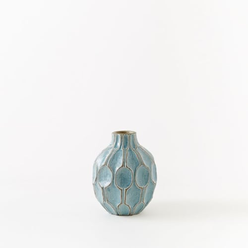 Vases & Vessels by West Elm seen at JW Marriott Essex House New York, New York - Yellow Short Shoulder Vase
