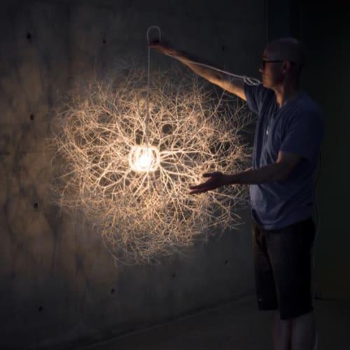 Tumbleweed Pendant   Pendants by Owen Mortensen