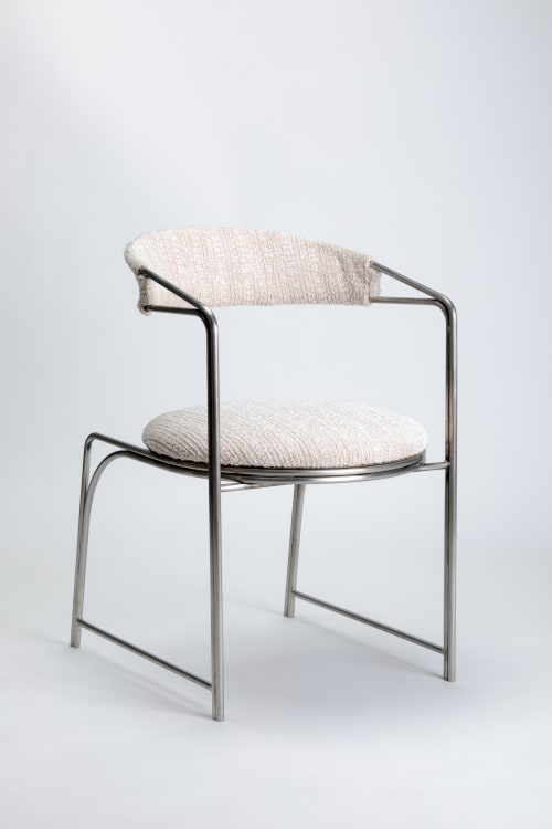 Chairs by LAUN seen at Los Angeles, Los Angeles - Bacall Chair