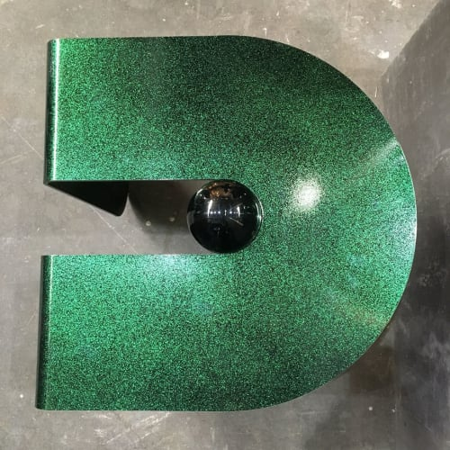 Tables by Suna Bonometti seen at The Architectural Digest Design Show, New York - U&I Table