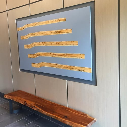Art & Wall Decor by Mth Woodworks seen at Simon Fraser University, Burnaby - Bloom Panel