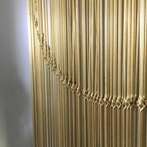 Art & Wall Decor by Beth Naumann seen at Private Residence, Emeryville - Brass Banner