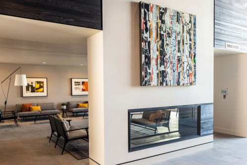 Paintings by Andrzej Michael Karwacki at Bay Meadow Residence, San Mateo - Equanimity Redefined