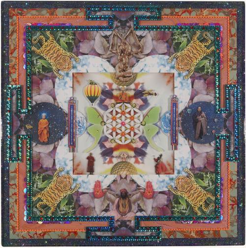 Paintings by Sebastian Wahl seen at ANYA, New York - Mandala Artwork