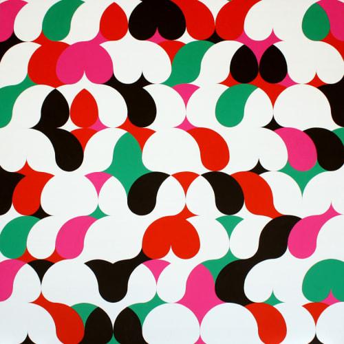Paintings by Piero Passacantando seen at The Sliding Door Company, Brooklyn - RGMBW - Pattern 11