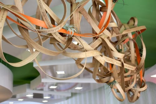 Sculptures by Art of Plants and Elliptic Designs at 16 Handles, Brooklyn - Flavor Jungle