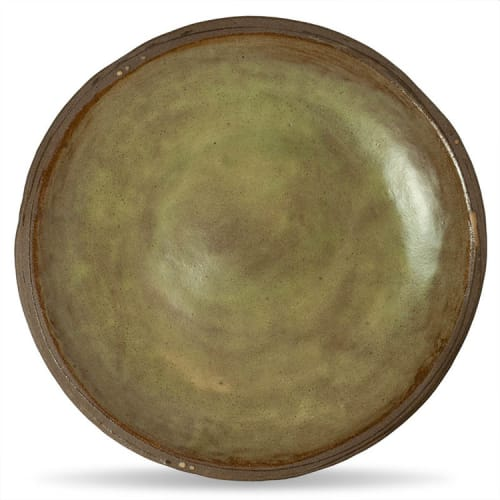 Ceramic Plates by Mary Mar Keenan seen at Pausa Bar & Cookery, San Mateo - Handmade Platters and Dishes