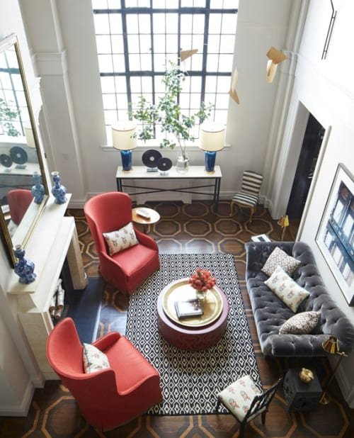 Interior Design by Timothy Whealon seen at Upper East Side Duplex, New York - Interior Design