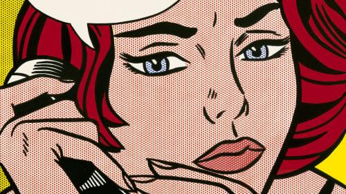 Roy Lichtenstein - Paintings and Art