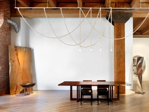 Pendants by Windy Chien seen at Studio Roeper, San Francisco - Helix Lights