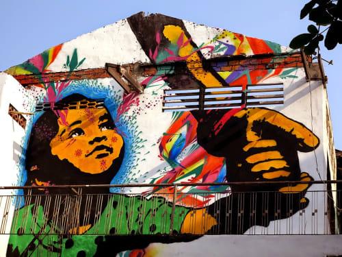 Stink Fish - Street Murals and Public Art