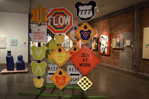 Sculptures by Tara Logsdon seen at Legend City Studios, Phoenix - Bearrier