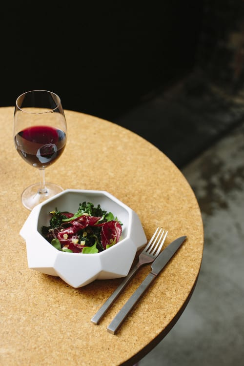 Tableware by R L Foote Design Studio at Melbourne Food and Wine Festival, Melbourne - Diamond Lab Bowl