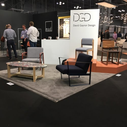 Furniture by David Gaynor Design seen at Jacob K. Javits Convention Center, NYC, New York - ICFF 2017