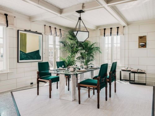 Chairs by Richard Wrightman Design seen at Le Petit Trianon Mansion, San Francisco - Chatwin Dining Chair 02