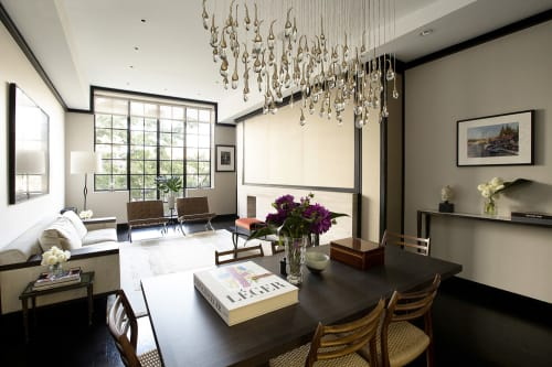 Interior Design by Scarpidis Design seen at West Village Penthouse, New York - Interior Design